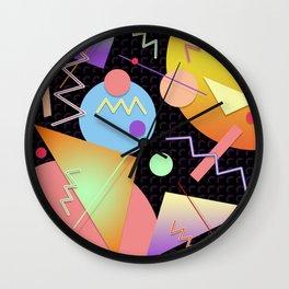Memphis #412 Wall Clock