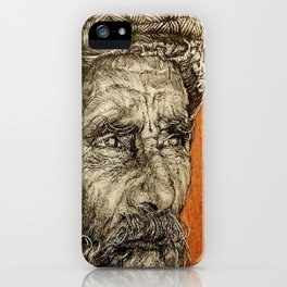 Old Man iPhone Case