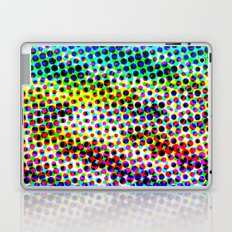 Halftone Color Chart Laptop & iPad Skin