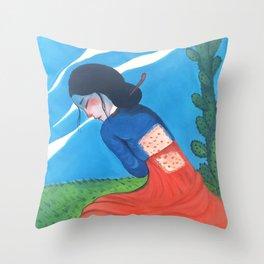 Cactus Skin Throw Pillow