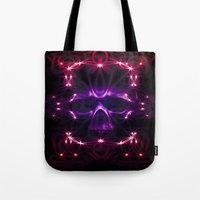 death star Tote Bags featuring Death star by Cozmic Photos
