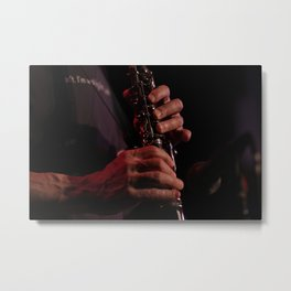 Music for the Soul Metal Print