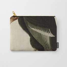 Vintage Bird Print - Birds of America - 426 Californian Vulture (1838) Carry-All Pouch