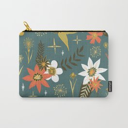 bright fun floral pattern Carry-All Pouch