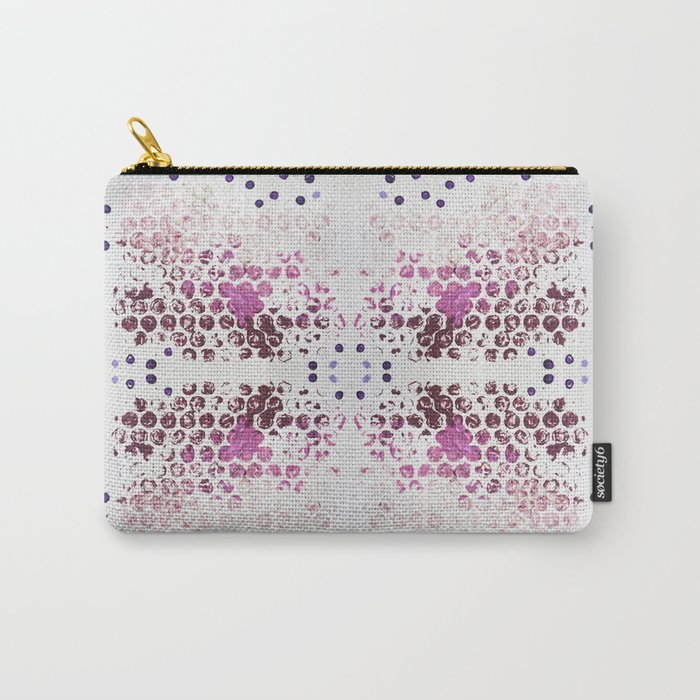 Spots and Dots Carry-All Pouch