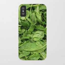 Spinach iPhone Case