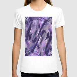 Thunder Plum Abstract T-shirt