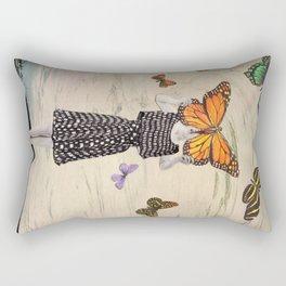 The butterflirst Rectangular Pillow