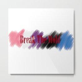 Break The Mold - Genderqueer Pride Metal Print