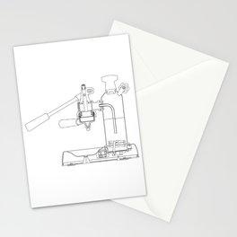 La Pavoni Lever Espresso Machine Stationery Cards