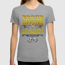 Proud Correctional Officer Funny Law Enforcement Gift T-shirt