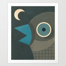Wind-Up Bird Art Print