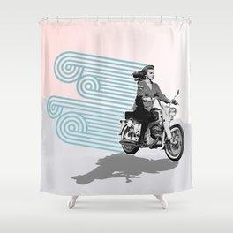 MOTO Margret Style Shower Curtain