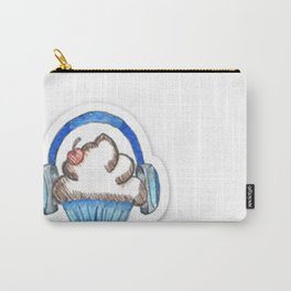 Cupcake Logo with Shadow Carry-All Pouch