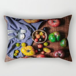 Farm Fresh (Color) Rectangular Pillow