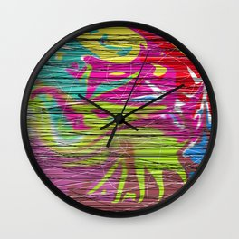 Crazy Colour Wall Clock