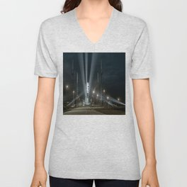 Why Do Rockets Launch At Night Unisex V-Neck