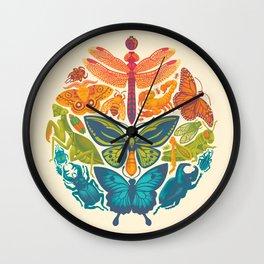 Bugs & Butterflies Wall Clock