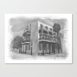 Lafitte Guest House Canvas Print