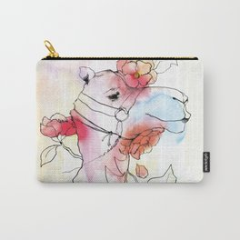 A camel in camelia Carry-All Pouch