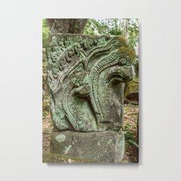 Baphuon Temple Ruins, Angkor Thom, Siem Reap, Cambodia Metal Print