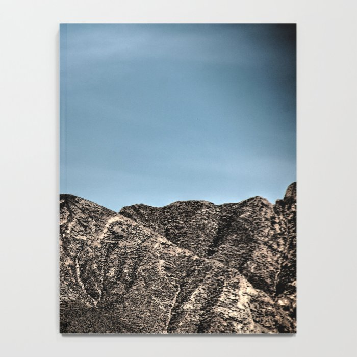 Moon over the Franklin Mountains Notebook