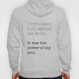 My Sin Against the World Hoody