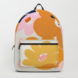 Abstraction_Flowers_Blossom_001 Backpack