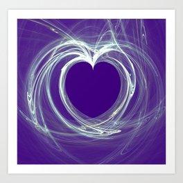 heart-chakra Art Print
