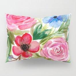 Watercolor Floral Bouquet No. 1 Pillow Sham