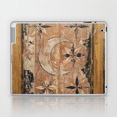 medieval wood painting Laptop & iPad Skin