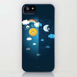 Night and Day iPhone Case