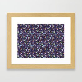 Rainbow Jelly Framed Art Print