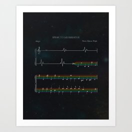 Dark Side of the Moon Art Print