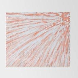 Peaches & Cream Throw Blanket
