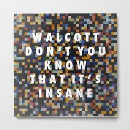 Spectrum Colors Arranged by Walcott Metal Print