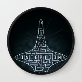 Inception - Top Maze Wall Clock