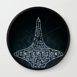 Inception - Top Maze Wall Clock