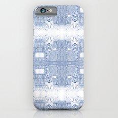 Blue Inhabited Plain iPhone 6s Slim Case