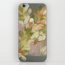 Feather Stream - Original Fine Art Print by Cariña Booyens iPhone Skin