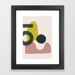 Domio Abstract 1 Framed Art Print