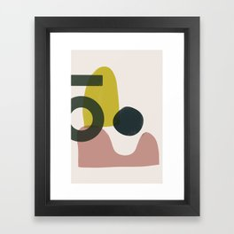 Branded Abstract 1 Framed Art Print