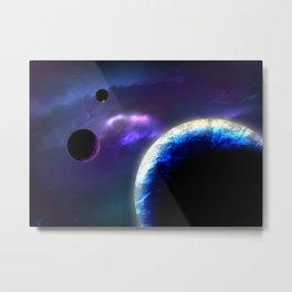 Space Travel Metal Print