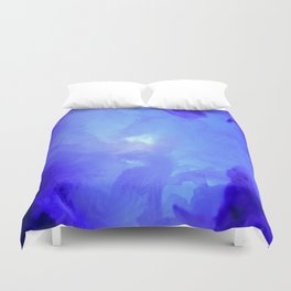 Textures (Blue version) Duvet Cover