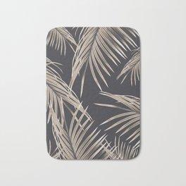 Sepia Palm Leaves Dream #1 #tropical #decor #art #society6 Bath Mat