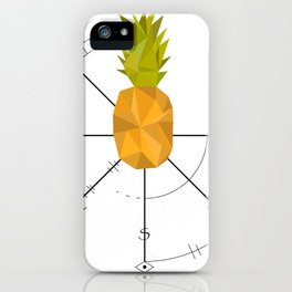 Pineapple Compass iPhone Case