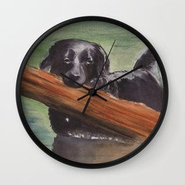 Misty River Wall Clock