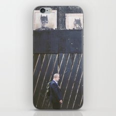 Black Wall iPhone & iPod Skin