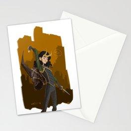 Loki & Crown of Surtur Stationery Cards