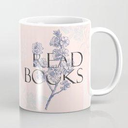 Read Books vintage typography Coffee Mug